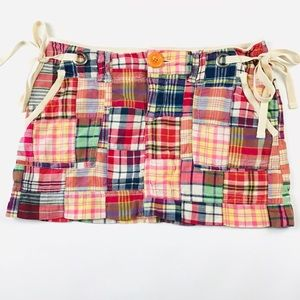 American Eagle Outfitters Size 2 Plaid Mini Skirt